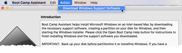 Booting Windows from an External USB Device on a Mac